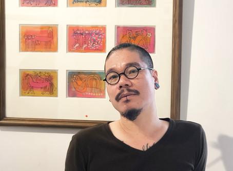 Họa sĩ Vũ Đình Tuấn: Kể chuyện dài qua những bức tranh nhỏ