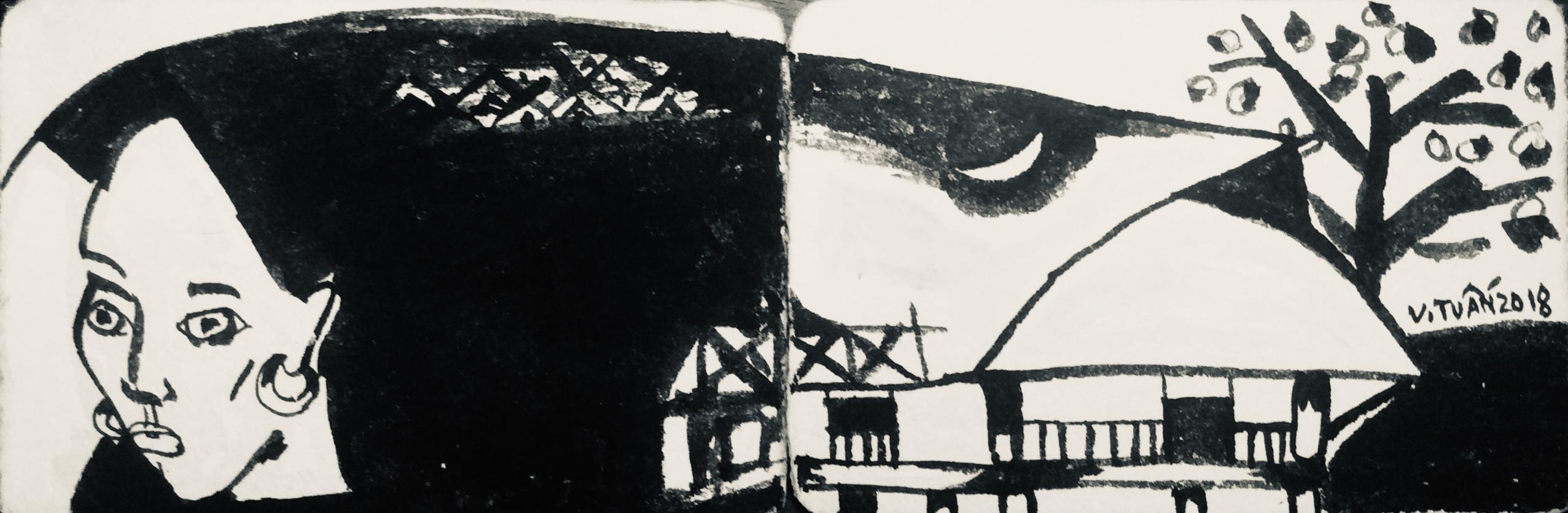 Trăng trên mái nhà | Moon on the Roof