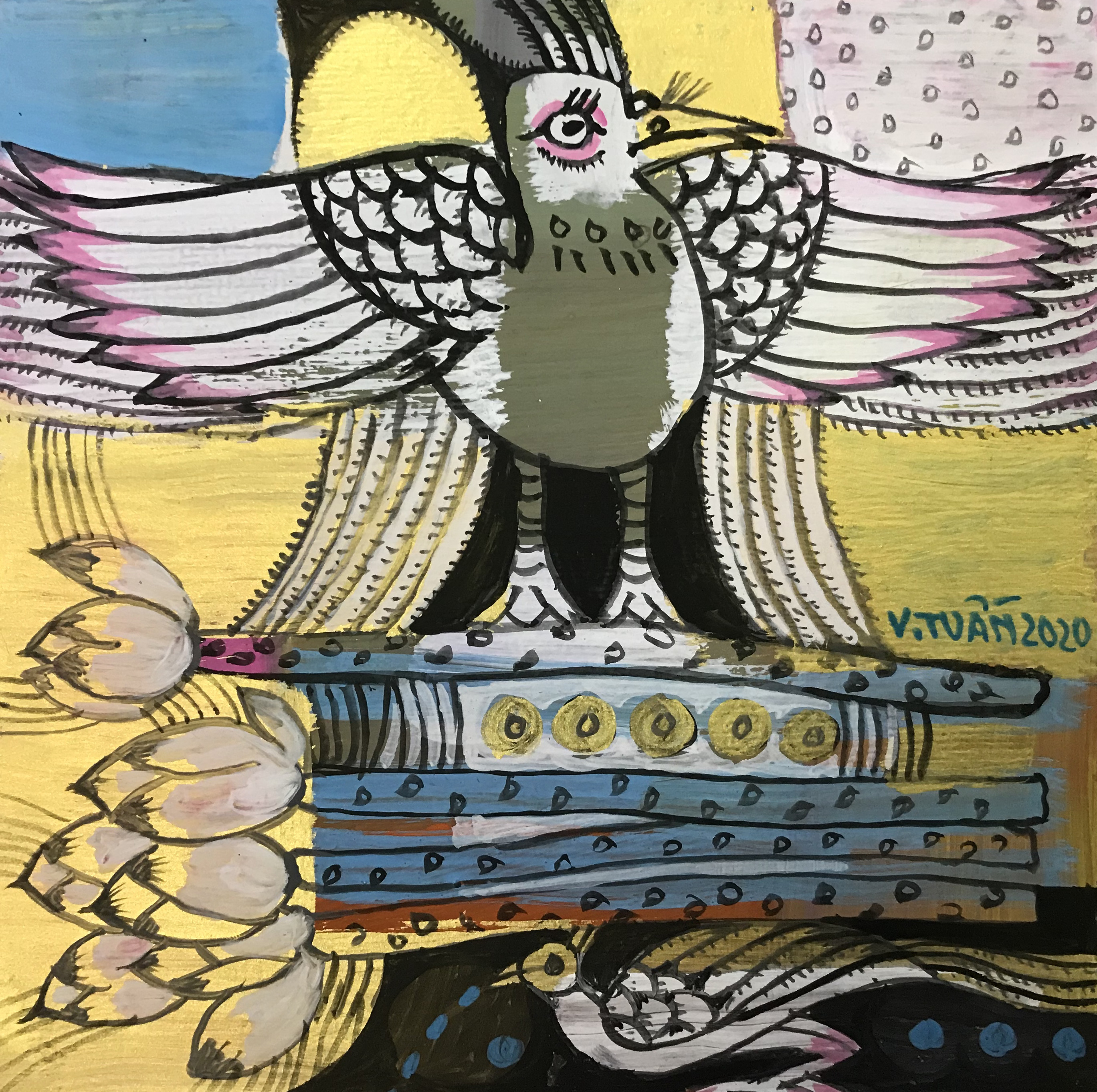 Xoè cánh bay | Spreading Wings