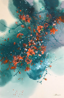Cotton Flowers 03 | Hoa Gạo 03
