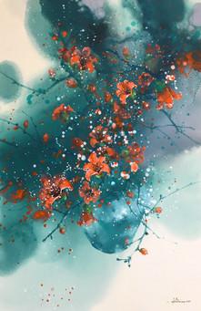 Cotton Flowers No. 3 | Hoa Gạo 03