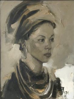 Portrait of a Minority No. 2 | Chân dung Người đàn bà Dân tộc Thiểu số 02