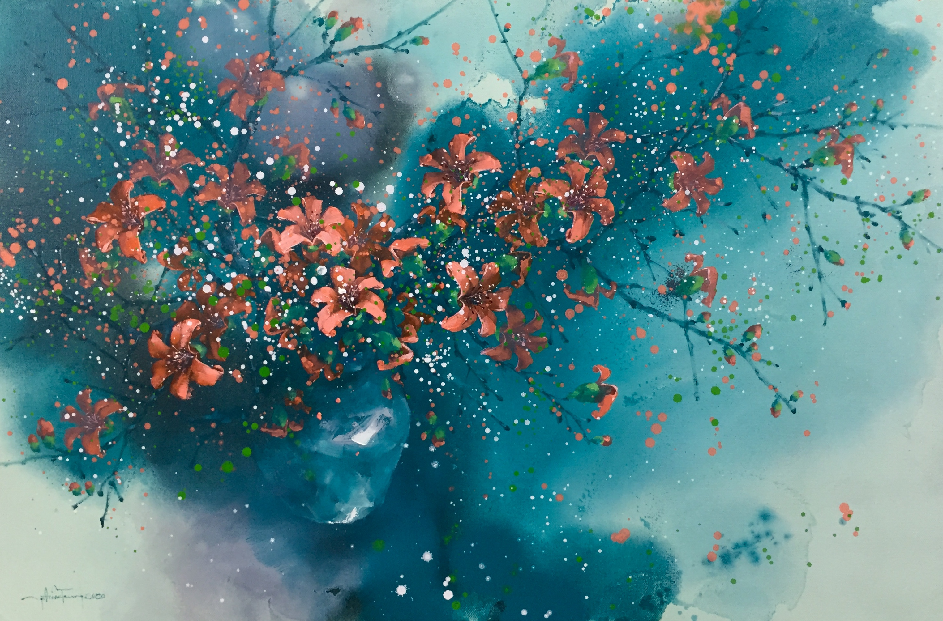 Cotton Flowers 06 | Hoa Gạo 06