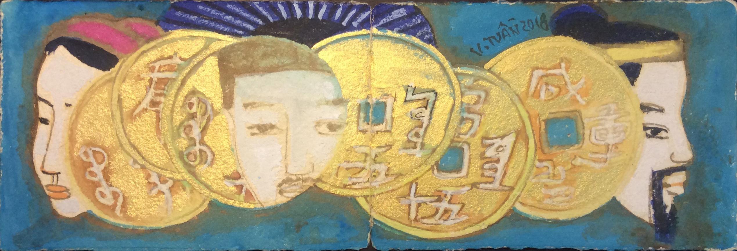Đồng tiền vàng 01 | Yellow Coin 01