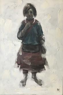 Minority Girl No. 1 | Bé gái Dân tộc Thiểu số 01