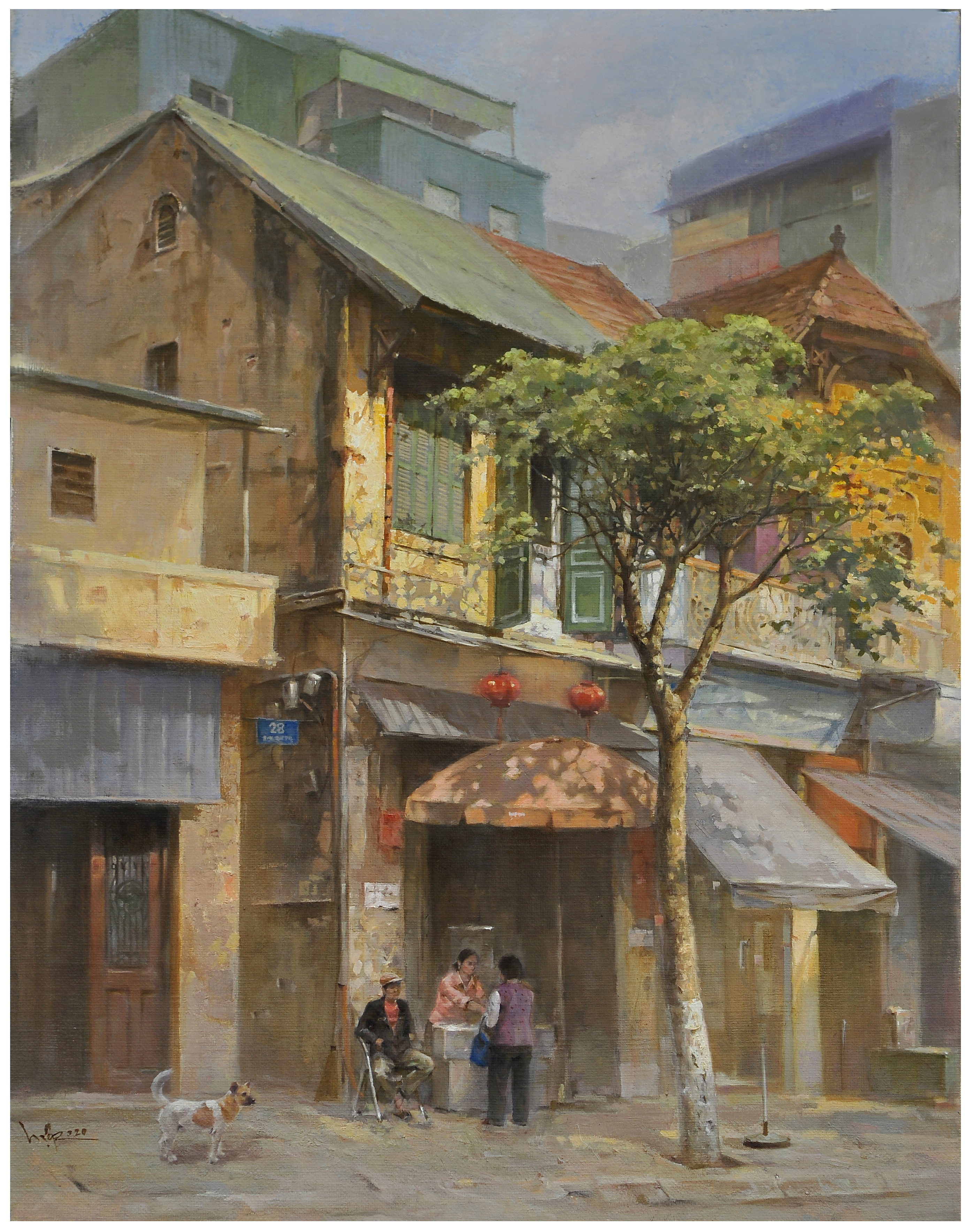 Autumn Street | Phố Heo May
