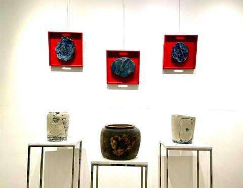 Những tác phẩm gốm của hoạ sĩ Phạm Hà Hải