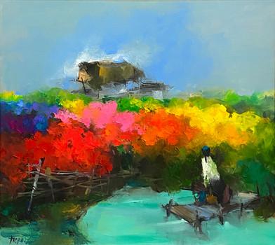 Flower Field | Cánh Đồng Hoa