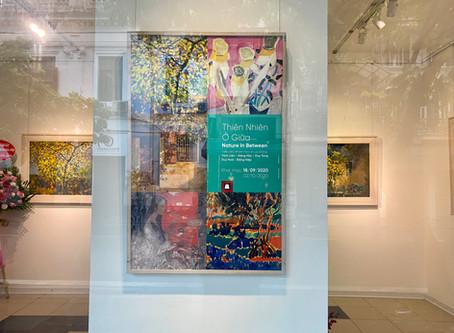 Khai mạc triển lãm 'Thiên nhiên ở giữa' của nhóm Họa sĩ Lưu Động