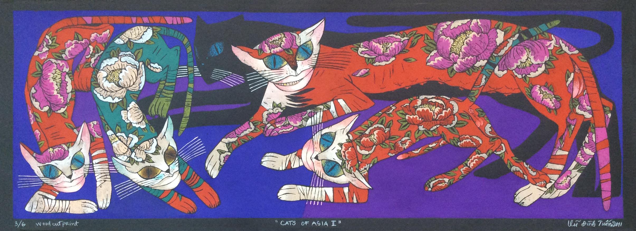 Cats of Asia No. 2 | Mèo Châu Á 02