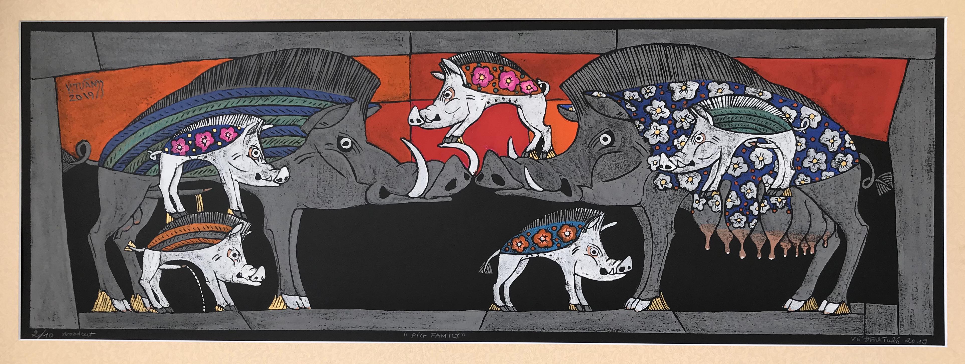 Pig Family | Gia Đình Lợn