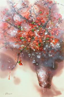 Red Silk Cotton Flowers | Hoa Gạo