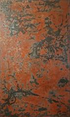 Nguyễn Trần Cường Lacquer on wood Sơn mài trên gỗ 80 x 160 cm  For reference   Tác phẩm tham khảo
