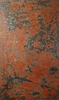 Nguyễn Trần Cường Lacquer on wood Sơn mài trên gỗ 80 x 160 cm For reference | Tác phẩm tham khảo