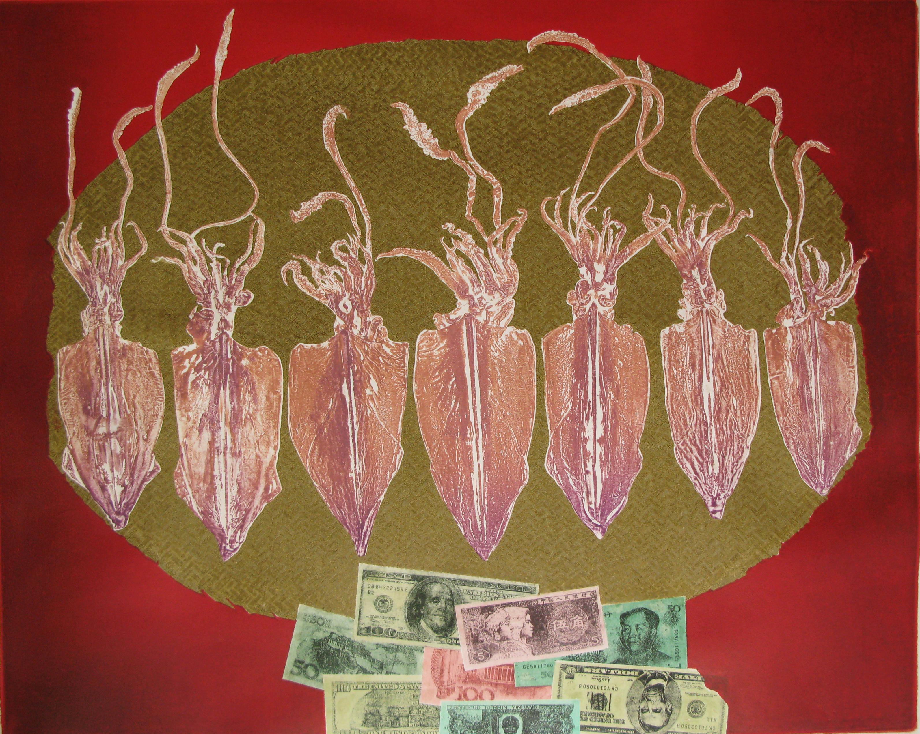 Seven Dried Squids | Bảy con Mực khô