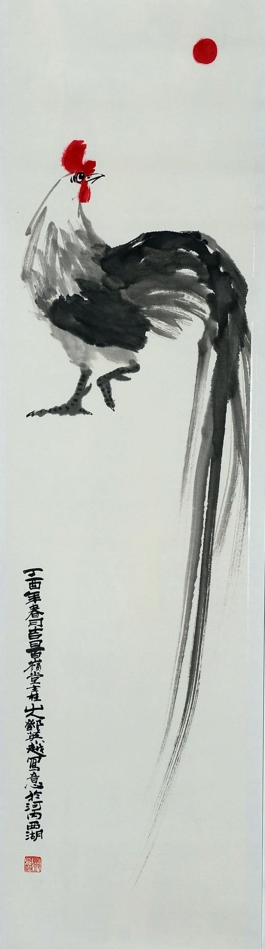 Long Tailed Cock   Gà Trống Đuôi Dài
