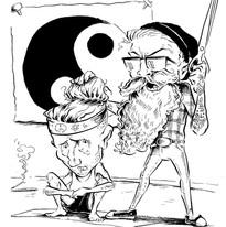 Les and the Yogi