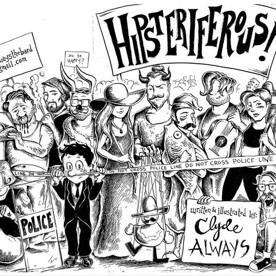 Hipsteriferous--Full Cover