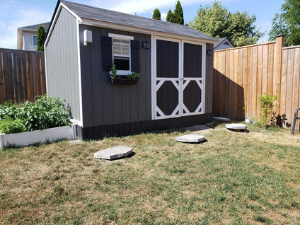 SHED TURNED PLAYHOUSE