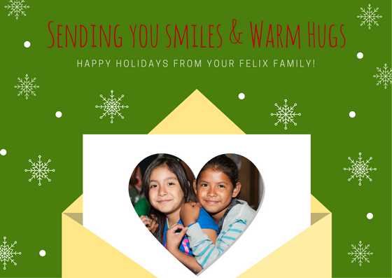 Seasons Greetings from Us to You!