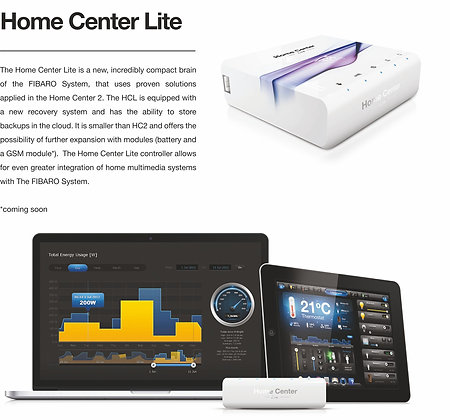 Z-Wave Fibaro Home Center Lite