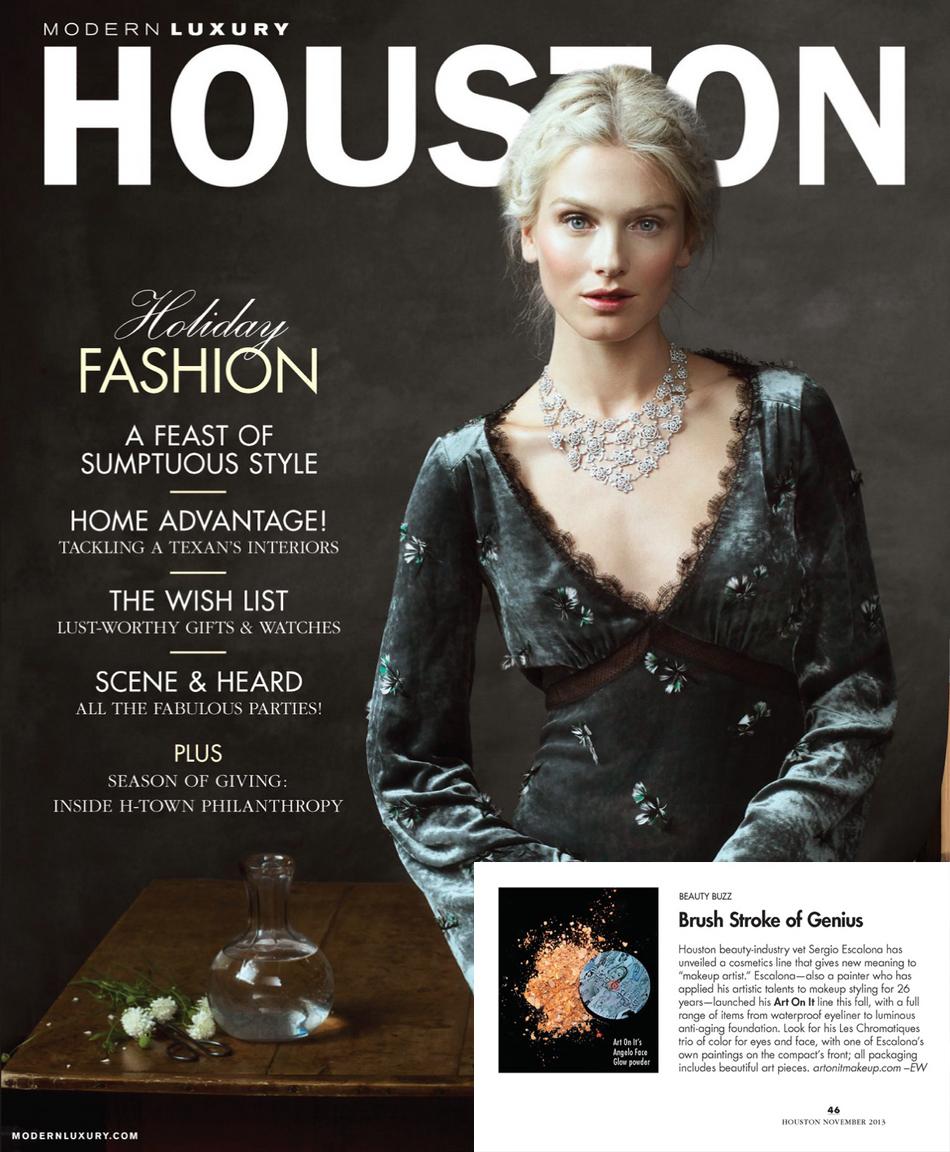 Modern Luxury Magazine~ Houston