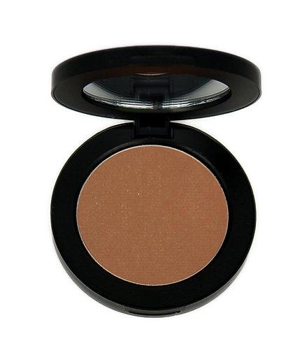 Medium brown eye shadow
