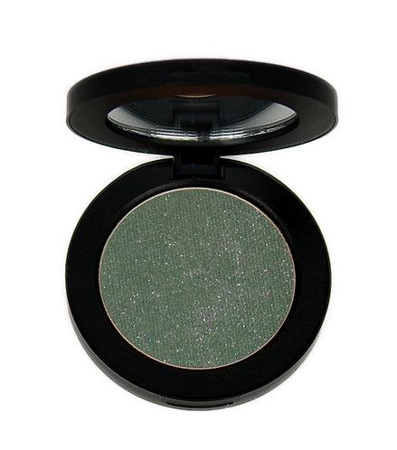 Chartreuse eye shadow