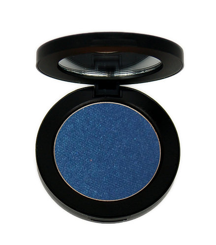 Navy blue eye shadow