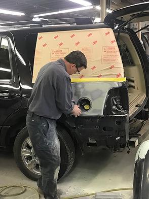 fiberglass auto repair