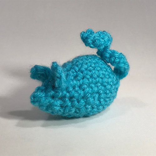 Aqua Catnip Mouse