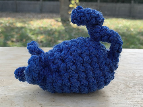 Royal Blue Catnip Rat