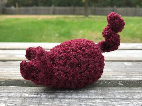 Cranberry Catnip Mouse