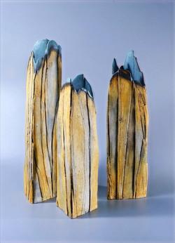 Cliff vases