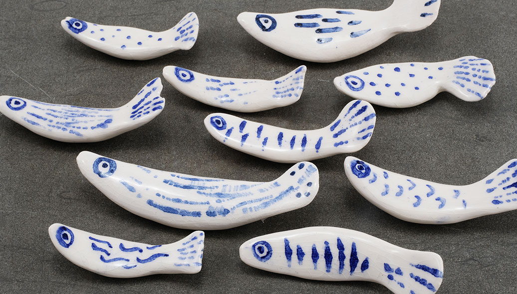 Porcelain fish