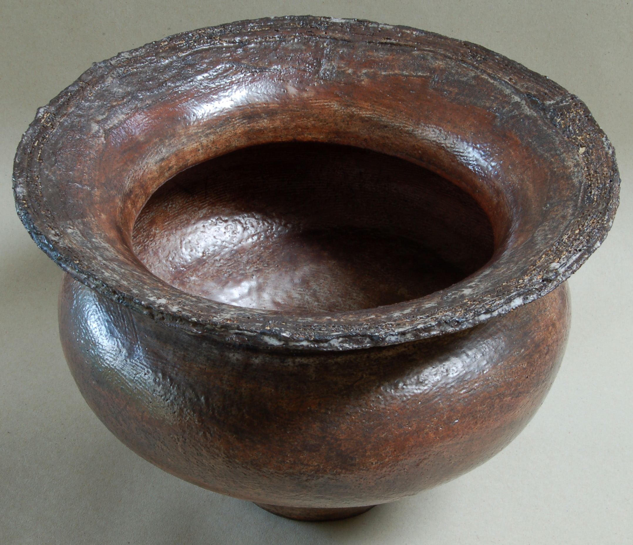 Large coiled pot