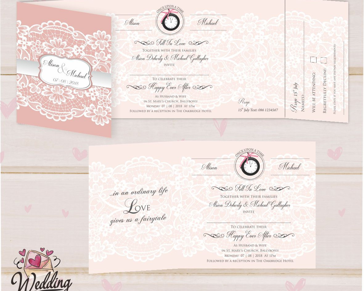 Lace fairytale Rsvp Perfed