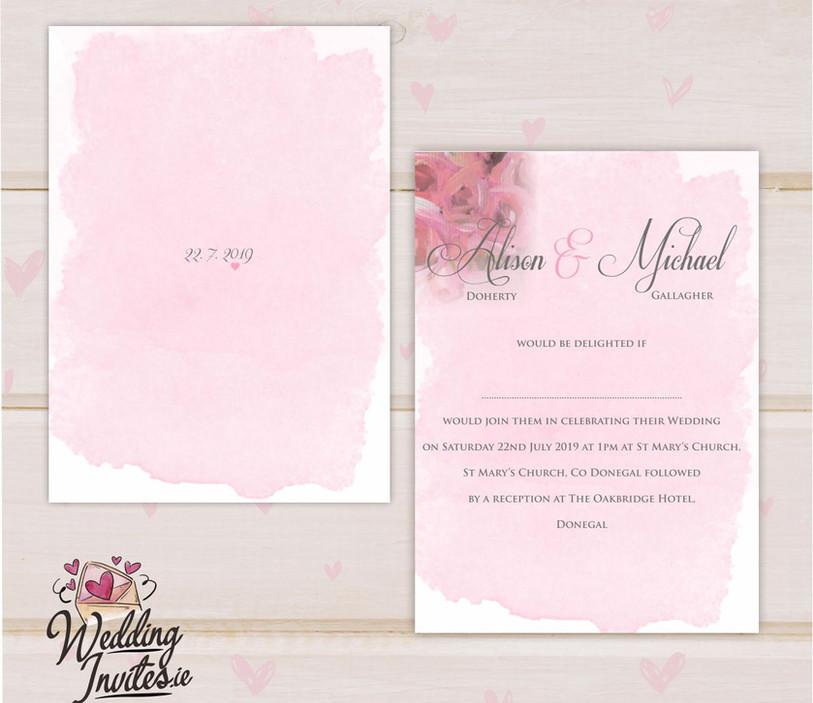 Floral Watercolour Blush