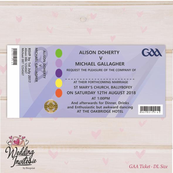Ticket Style GAA