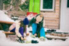 Micro-chalets des Appalaches enfants en