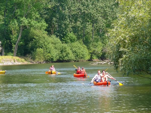 Rivière et Kayak