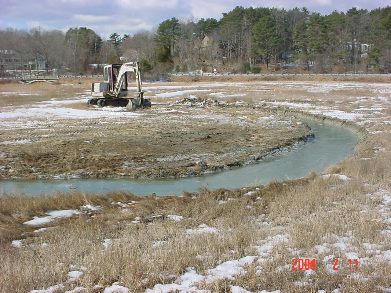 Wheeler Salt Marsh Restoration Proje