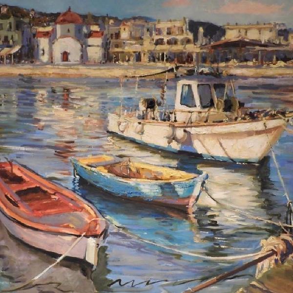 Violetta Chandler Oil Painting Class 1 (