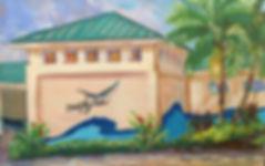 Beach Art Center painting Cropped Linda
