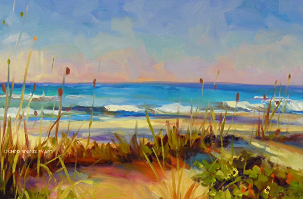 Chris Brandley Art Beach horizontal copy