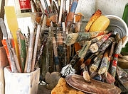 Brushes and Tools Image - Andrea Harms.