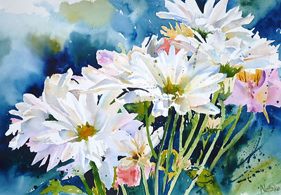 Suzanne Natzke - Light up watercolors wk