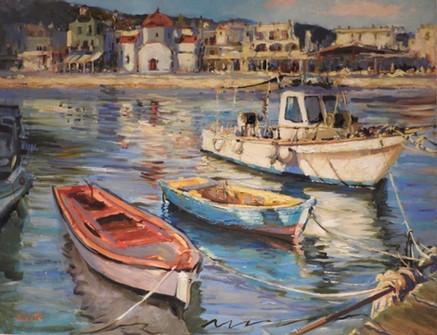 Violetta Chandler Oil Painting Class 1.J