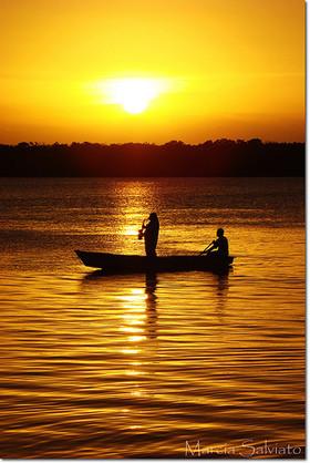 Brazil's Kenny G in a Canoe
