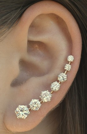 A Diamond Cuff to Make Your Ears Ring